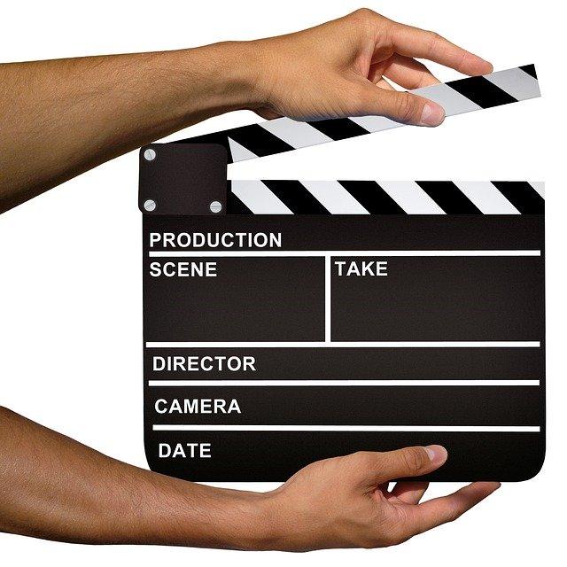 video clapper board